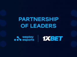 1xBET WePlay Esports collaboration