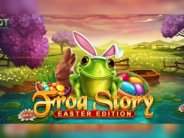 EGT Interactive Frog Story Easter edition