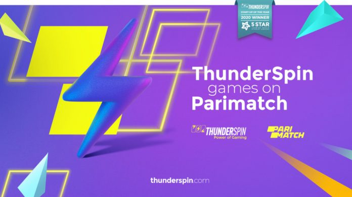 Thunderspin games on Parimatch