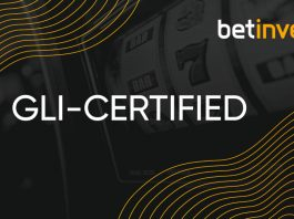 Betinvest GLI Certified RNG approval