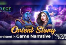 EGT Interactive Orient Story CasinoBeats Game Developer Awards