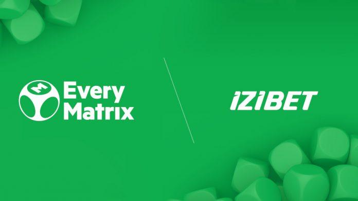 EveryMatrix IZIBET partnership