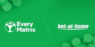 EveryMatrix bet at home partnership