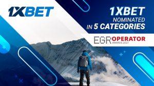Nominasi 1xBet EGR Operator Awards