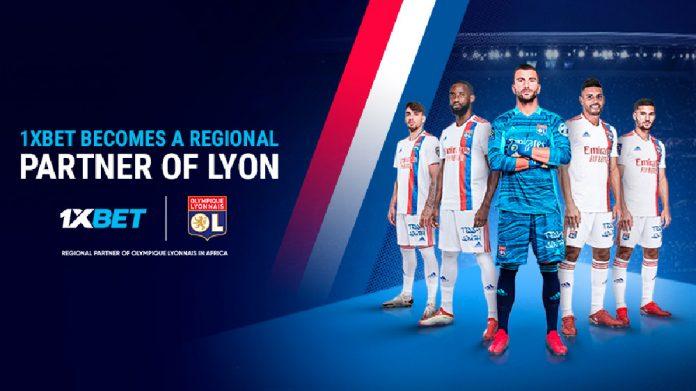 1xBet Lyon partnership