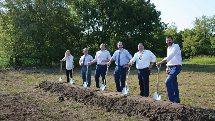 Aristocrat Gaming breaks ground on new Tulsa facility