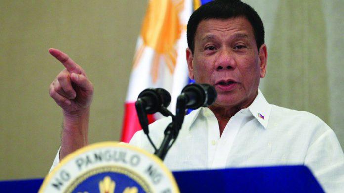 Rodrigo Duterte reverses stance on gambling